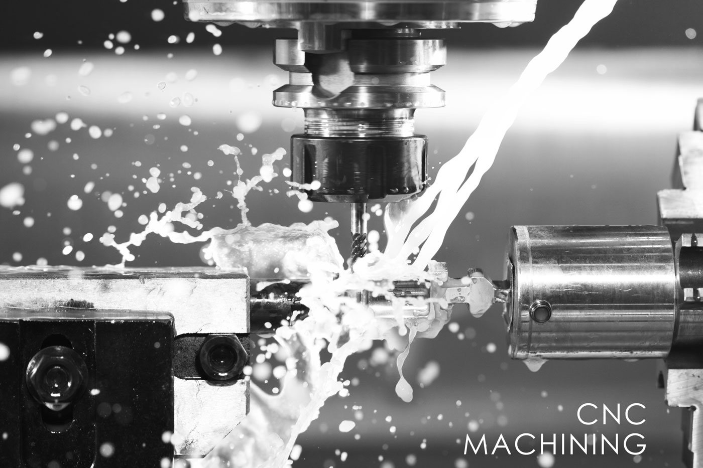 CNC Machining - Although we have many tools for hand processing, we don't have a CNC in-house.  Lucky for us, our neighbors are a fully license machine shop and they love giving us the best prices.