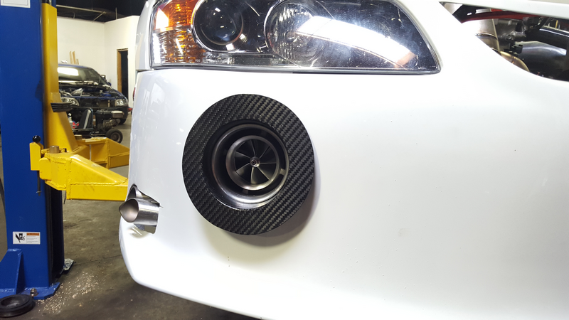 Carbon Fiber EVO Turbo Duct