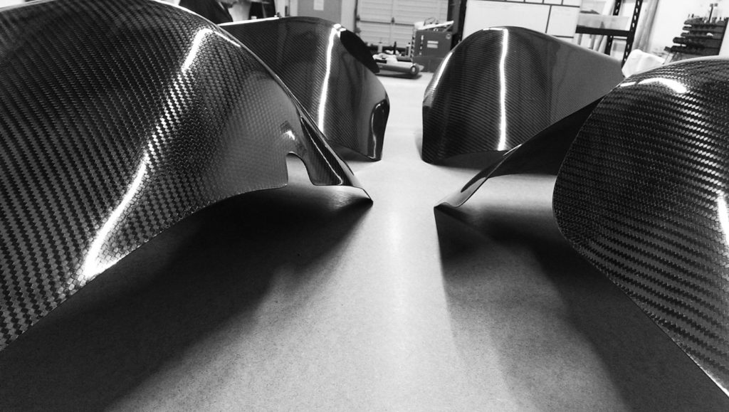 Custom Carbon Fiber Fenders