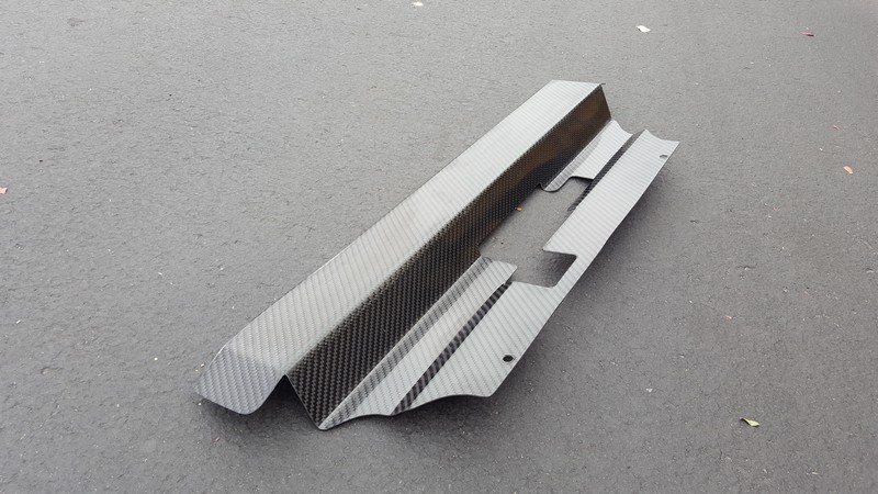 Custom Carbon Fiber SVT Mustang Radiator Cover