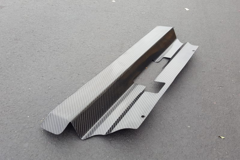 Carbon Fiber Mustang Radiator Cover