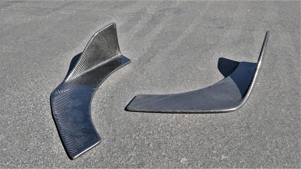 Custom Carbon Fiber Wrapped Canards