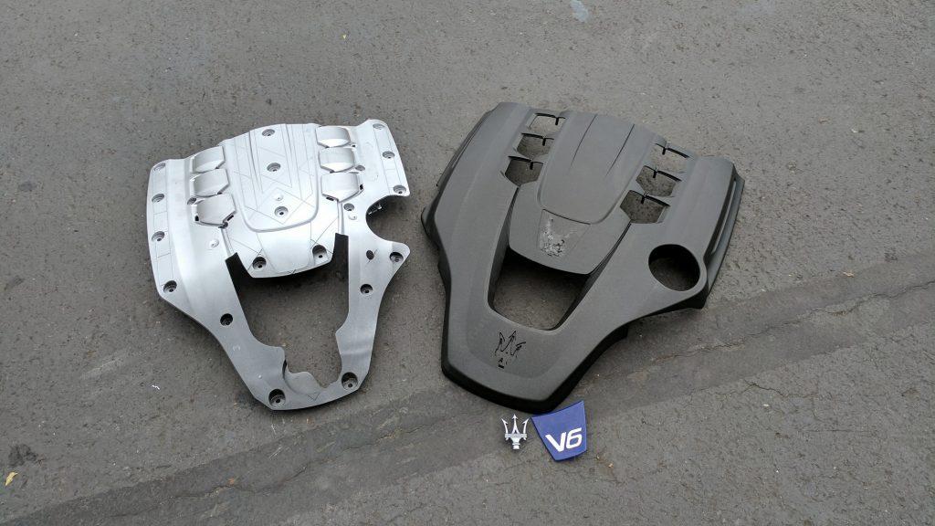Carbon Fiber Maserati Valve Cover