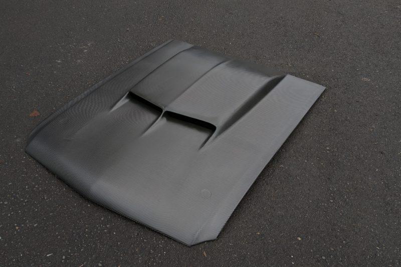 Carbon Fiber Mustang Hood
