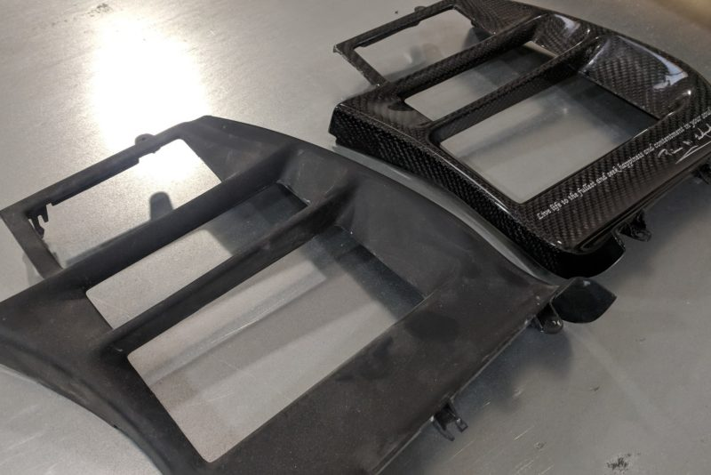 Carbon Fiber Corvette Center Console